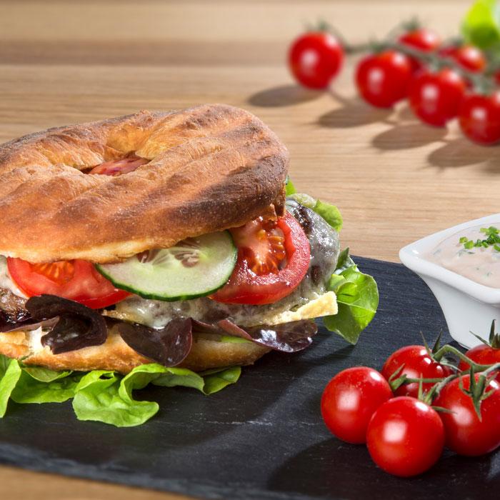 Bauernkrapfen Burger