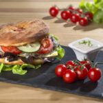 Hochaufgelöst: Bauernkrapfen Burger