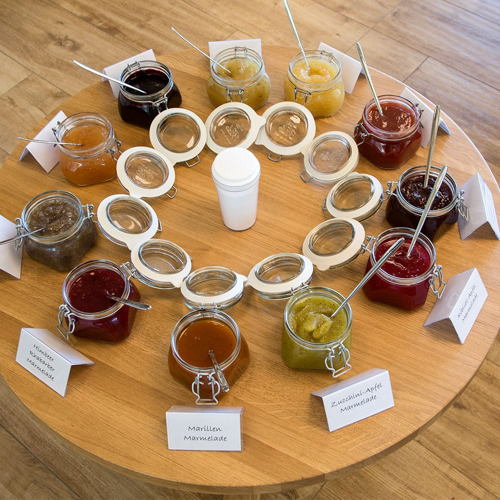 Marmeladen verkosten